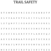 Trail-Safety-Word-Search