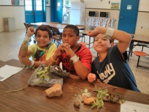 Nature Bracelets - Tobacco Heritage Day at La Crosse Elementary