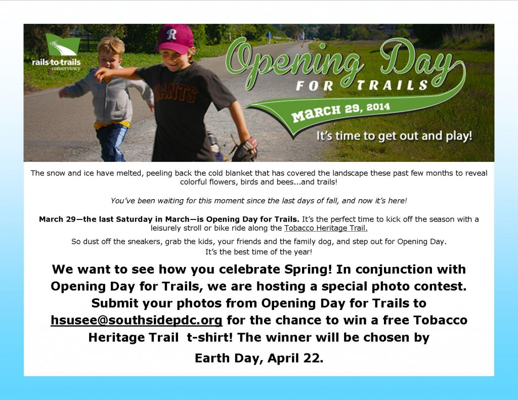 Opening Day for Trails contest