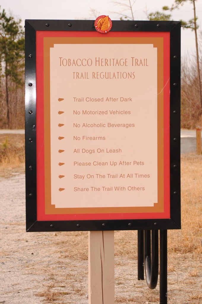 Tobacco Heritage Trail Rules